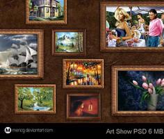 Art Show PSD by MericG