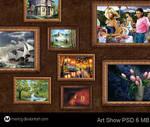 Art Show PSD