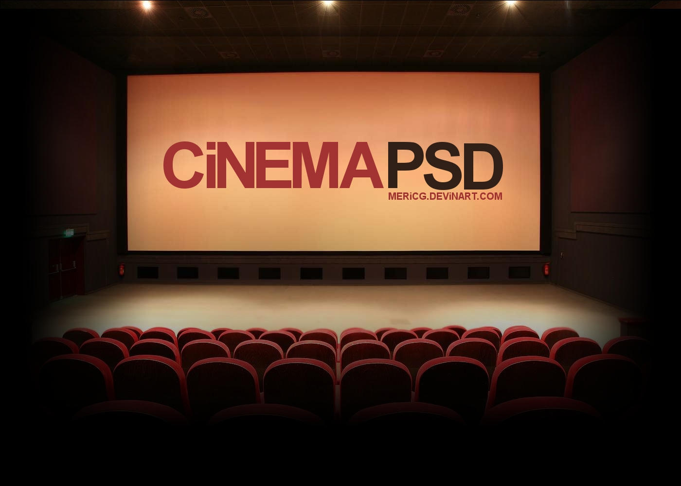 Cinema PSD by MericG
