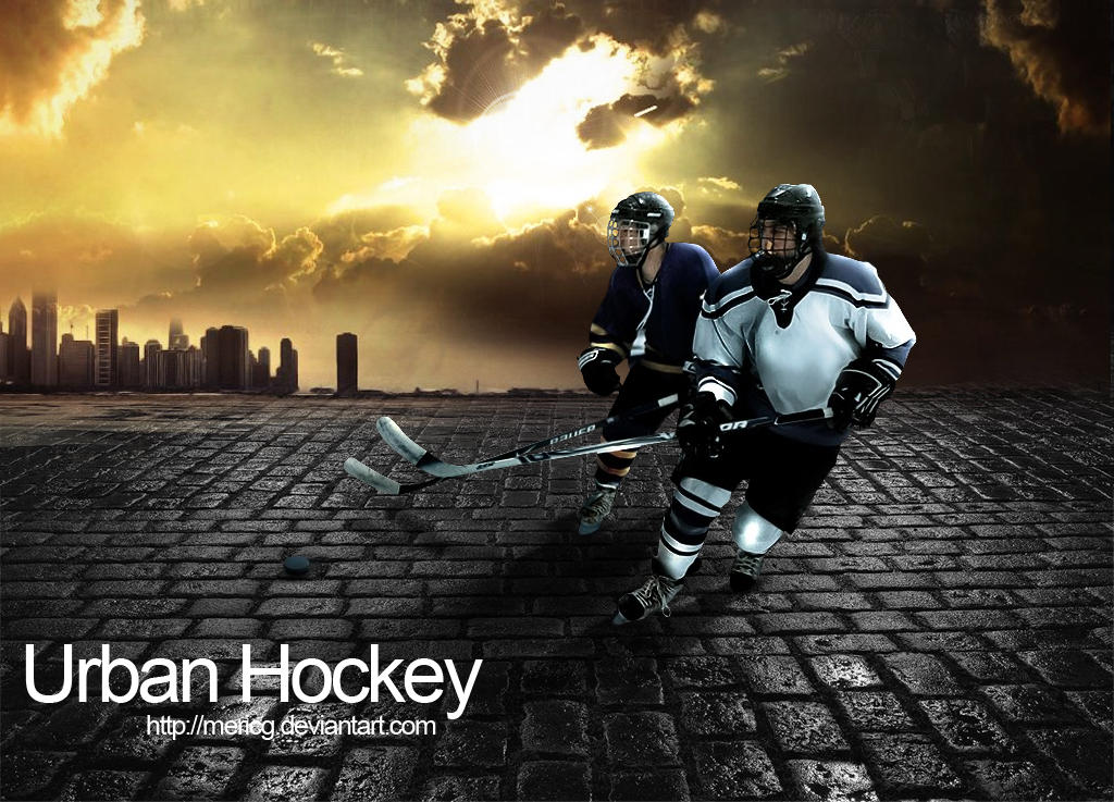 Urban Hockey PSD by MericG