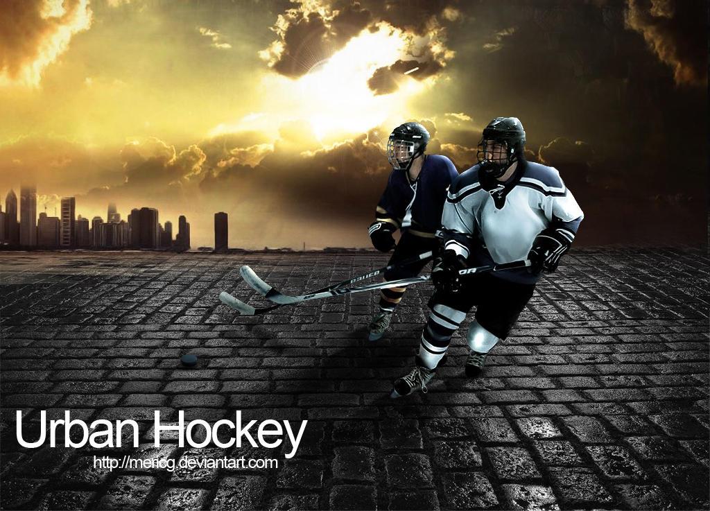 Urban Hockey PSD by MericG