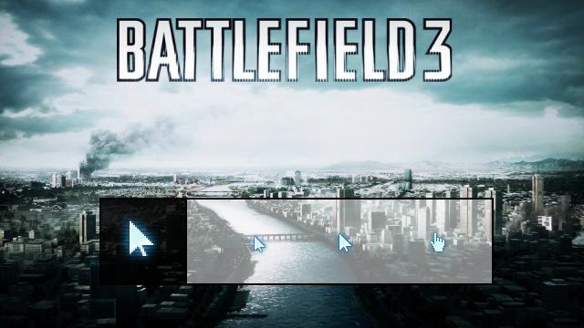 Battlefield 3 cursor by PhysXPSP