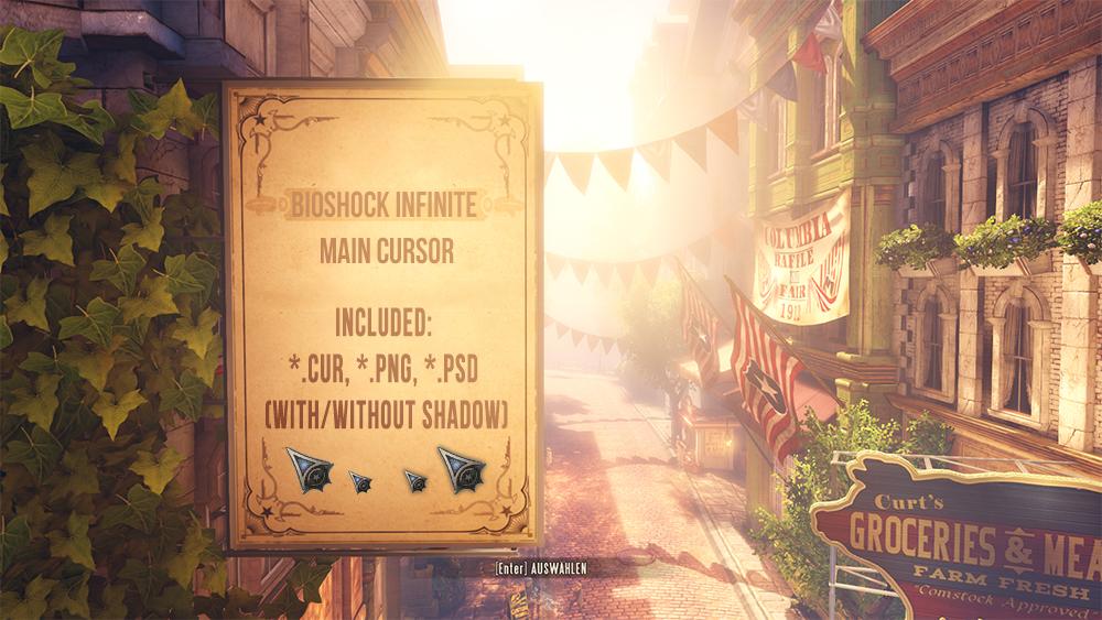 BioShock Infinite Main Cursor by PhysXPSP