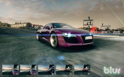 Blur Wallpaper-Pack Audi R8