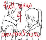 Unmei Shika: kiss animation :D