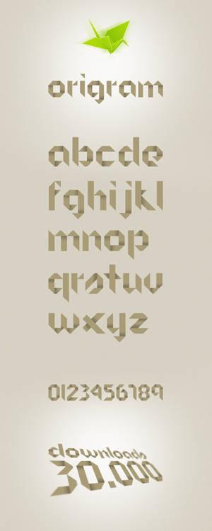 Origram Free Font