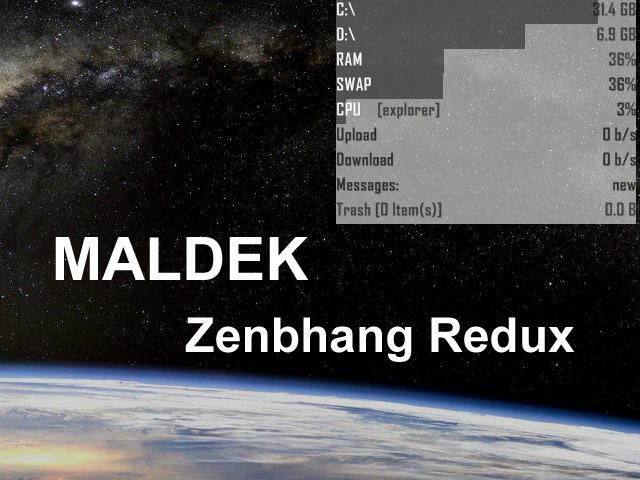 Maldek Zenbhang Redux 1.0 by Zenbhang
