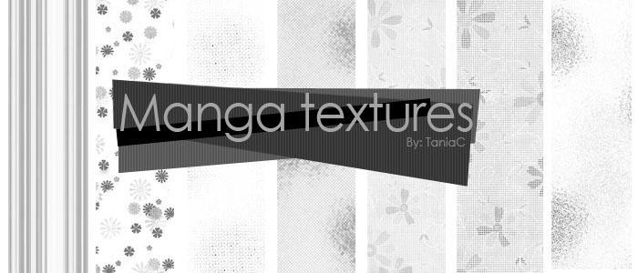 Manga textures by TaniaC