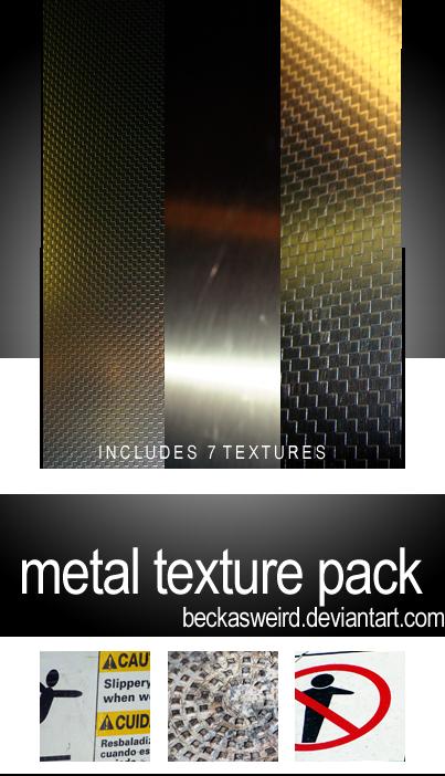 metal texture pack by beckasweird