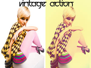 Vintage Action 8