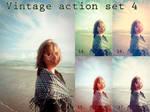 Vintage action set 4