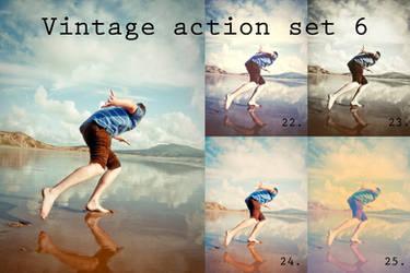 Vintage action set 6