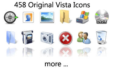 Vista Feeling Icon Pack UPDATE by Bush1do