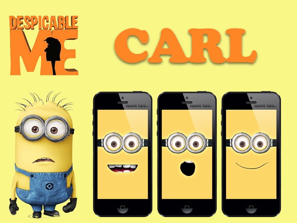 Minion Carl (despicable me) by iJonas95