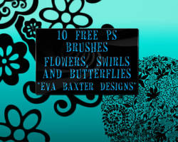 Frilly Flowers And Patterns by EvaTakesNoPrisoners
