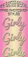EVA BAXTER DESIGNS -- 6 FREE GIRLY STYLES