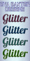 EVA BAXTER DESIGNS -- 6 FREE GLITTER STYLES