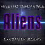 EVA BAXTER DESIGNS -- ALIEN STYLE FREEBIE