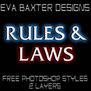 EVA BAXTER DESIGNS -- FREEBIE STYLE