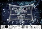 EVA BAXTER DESIGNS - 10 LARGE GRUNGE BRUSHES