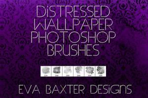 EVA BAXTER DESIGNS - DISTRESSED WALLPAPER BRUSHES