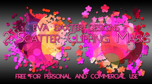 Eva Baxter Designs - Scatter Clipping Masks