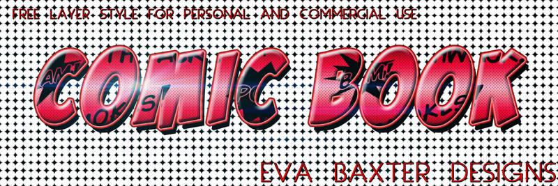 Eva Baxter Designs - Free Comic Book Style