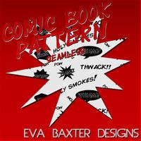 Eva Baxter Designs - Comic Book Pattern