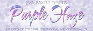 Eva Baxter Designs - Purple Haze PS Style
