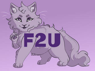 F2U Kitten Lineart by Drivinghawk-Adopts