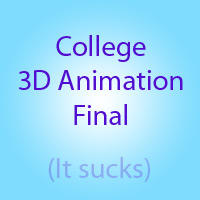 College - 3D Animation Final by Leviamicky