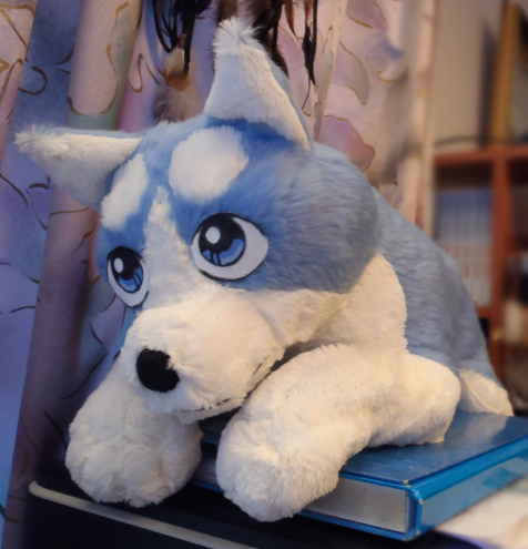 Ginga plushie - patterns by IsisMasshiro