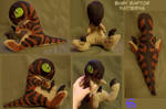 Baby velociraptor-plushie PATTERNS