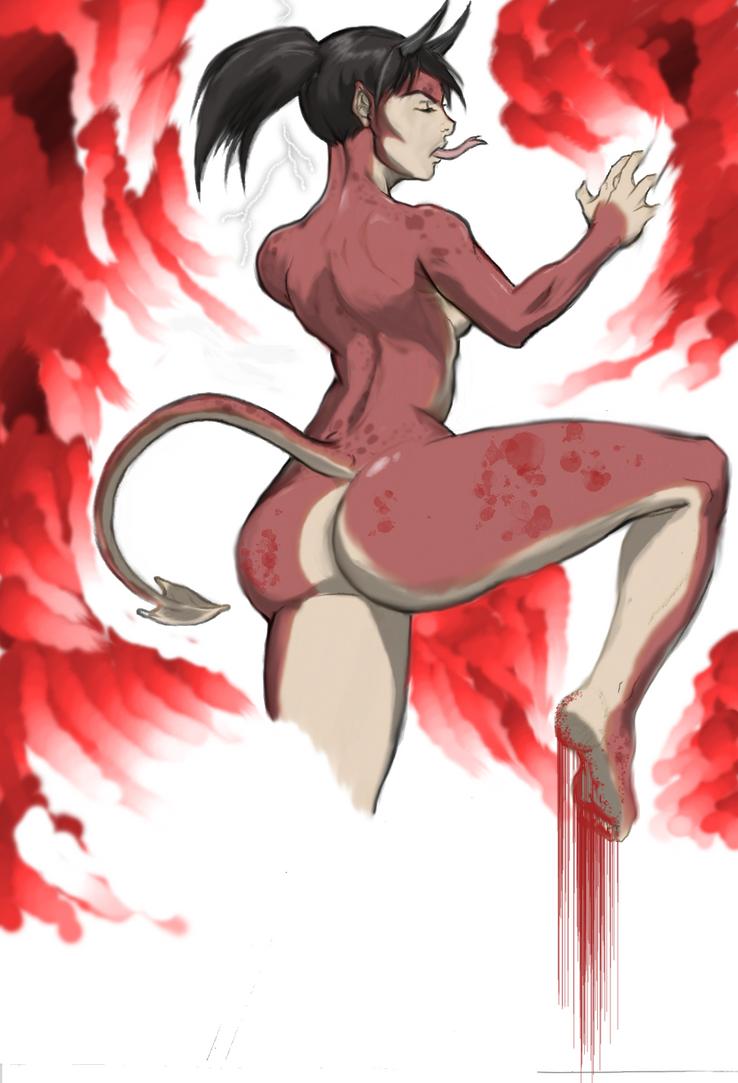 She Devil in color by ARTIS02