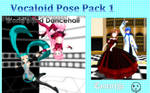 MMD Vocaloid Pose Pack 1