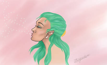 maybe a mermaid by imargarita