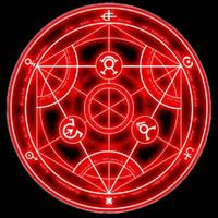 Rotating Alchemy Symbol by NamesAlreadyClaimed