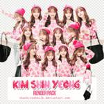 [RENDER PACK 4] Kim Shin Yeong