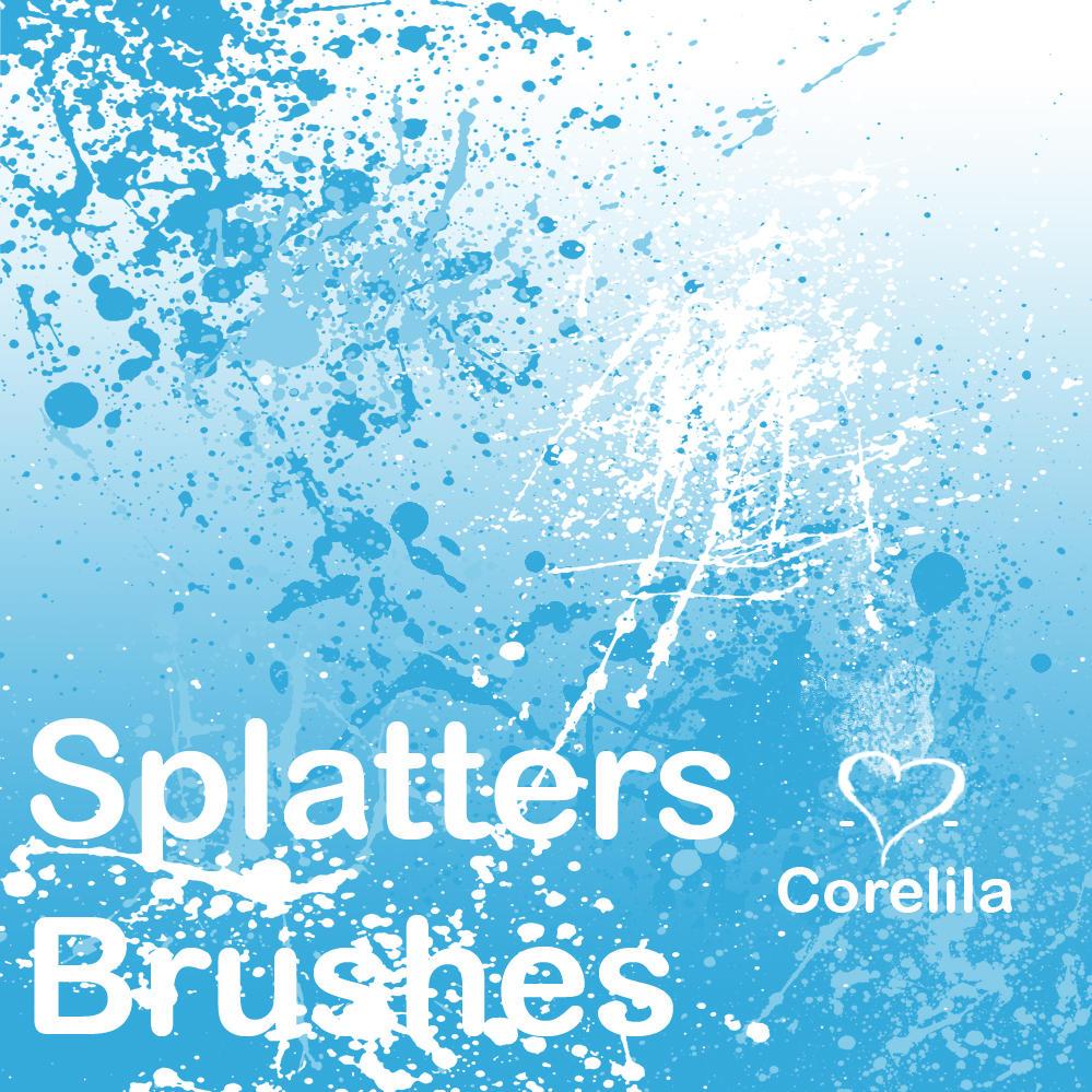 Splatter Brushes by corelila