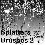 New Splatters Brushes