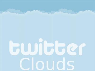 Twitter Clouds by Neto8