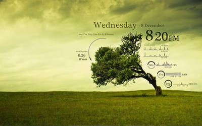 Green Tree Rainmeter