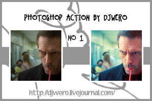photoshop action no 1 by DJWero
