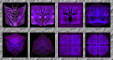 Decepticon Sigil Avatars by ChimeraDragonfang