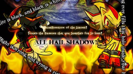 All Hail Shadow Wallpaper