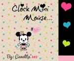 Clock Mini Mouse