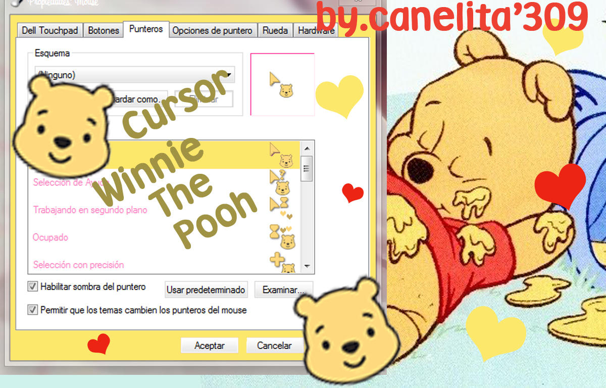 Cursor Winnie The Pooh by SriitaDeWatt