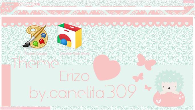 Theme Google Chrome -  Erizo by SriitaDeWatt