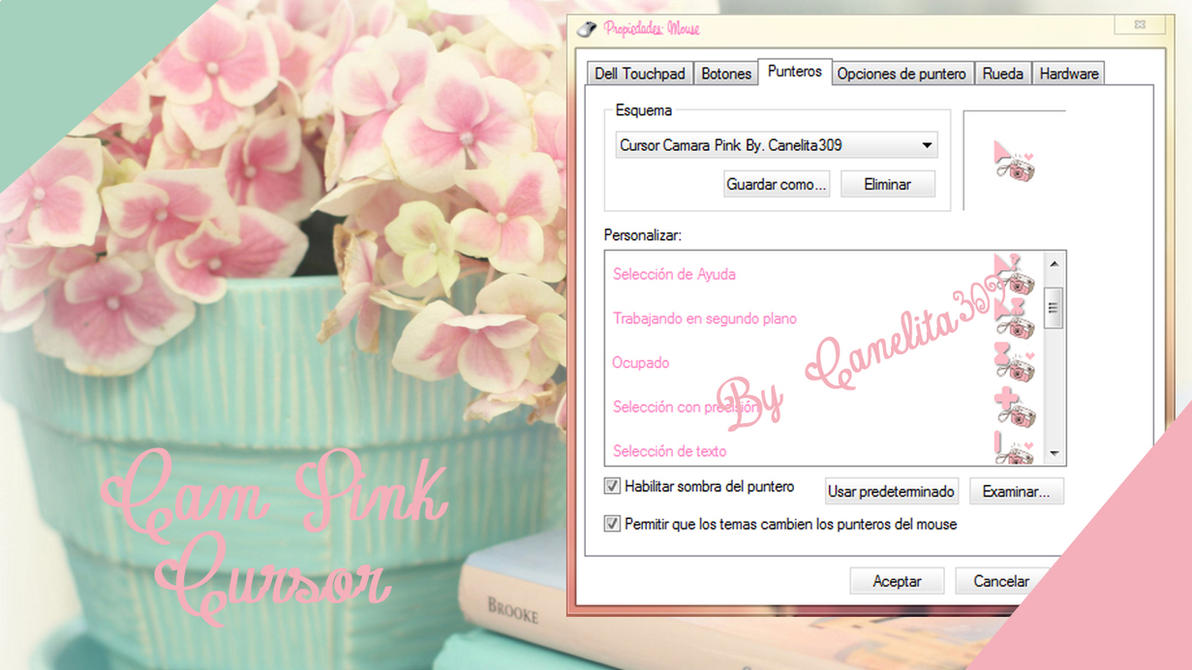Cursor Camara Pink by SriitaDeWatt