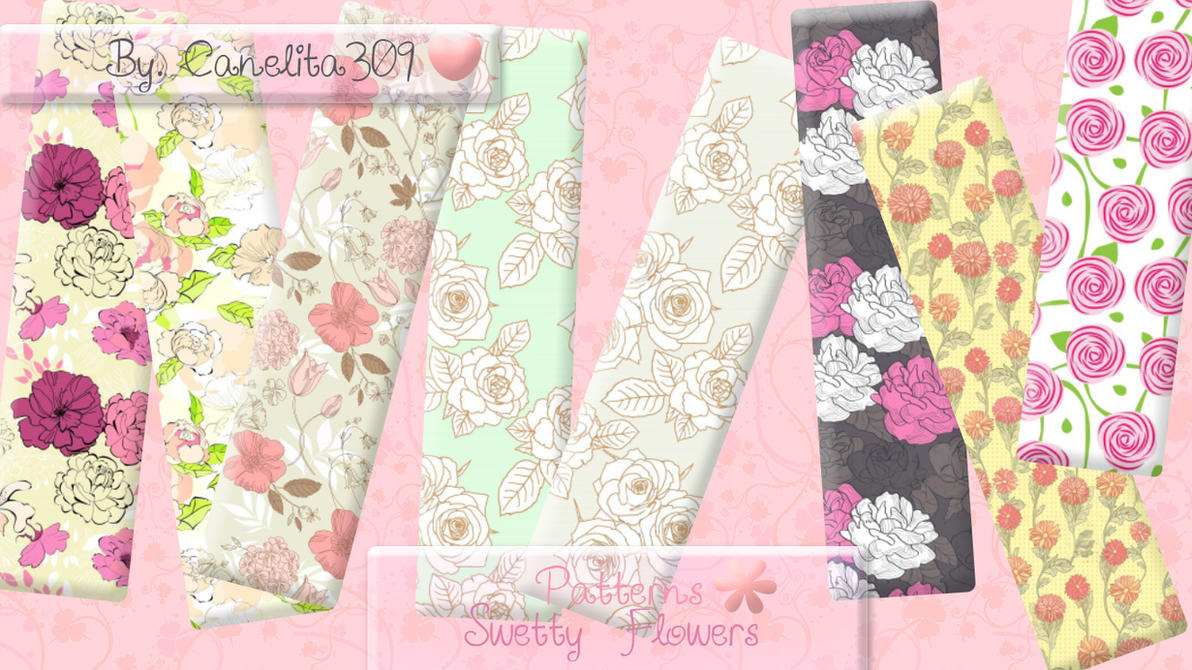 Patterns Swetty Flowers by SriitaDeWatt